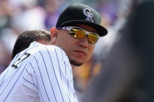 Rockies outfielder Carlos Gonzalez also could be on the move.